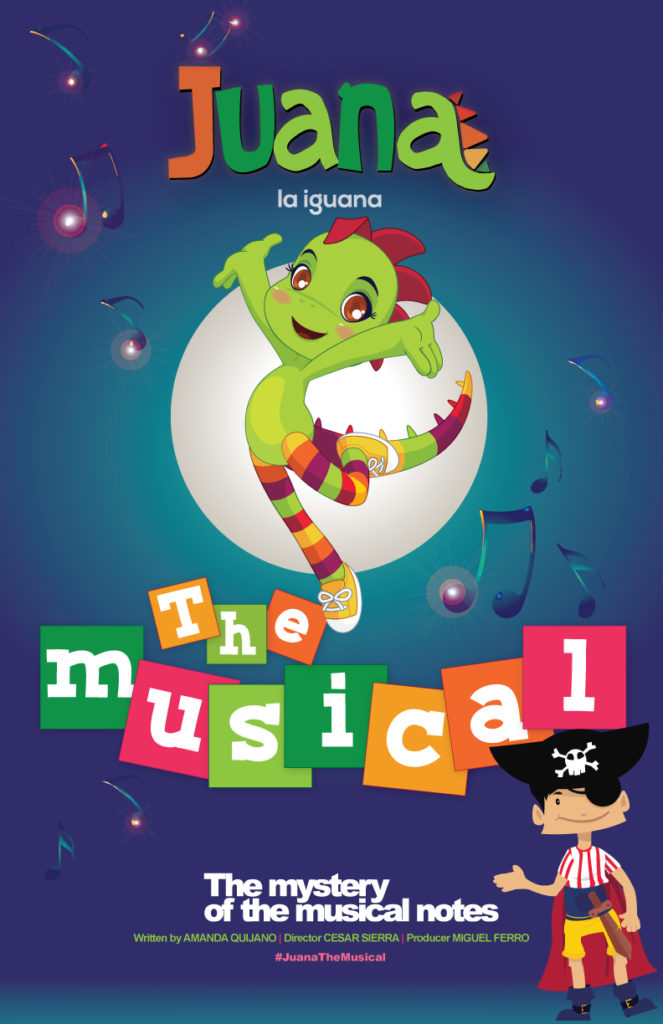 Juana la Iguana - The Musical - The Mystery of the Musical Notes