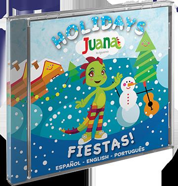 CD con Canciones de Fiestas