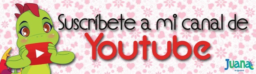 Suscribete a mi canal de YouTube